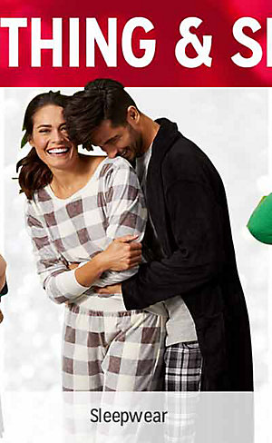 50% OFF CLOTHING & SLIPPERS | Shop sleepwear