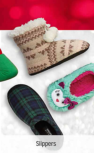50% OFF CLOTHING & SLIPPERS | Shop slippers