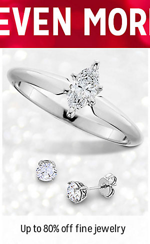 UNWRAP EVEN MORE SAVINGS | Up to 80% off fine jewelry | shop now