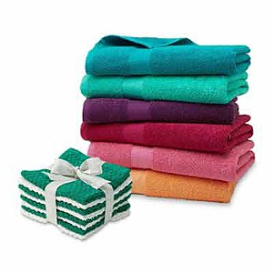 $2.49 | reg. $4.99 Essential Home Sutton bath towel or 8-pk. washcloth