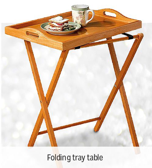 BUY ONE, GET ONE 50% OFF  | Single serving tray table | shop now
