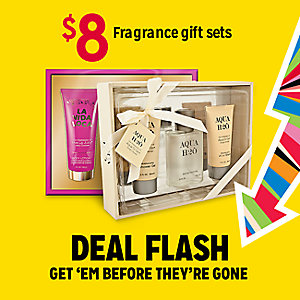 DEAL FLASH | $8 Fragrance gift sets | GET 'EM BEFRORE THEY'RE GONE