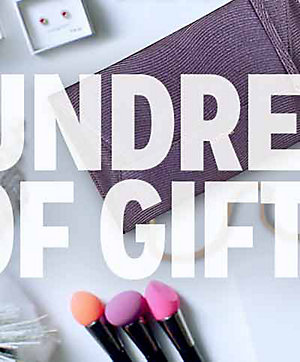 HUNDREDS OF GIFTS | shop now