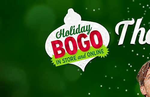 Holiday BOGO IN STORE and ONLINE | The more the merrier