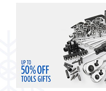 Up to 50% off Tools Gifts