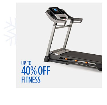 Up to 40% off fitness