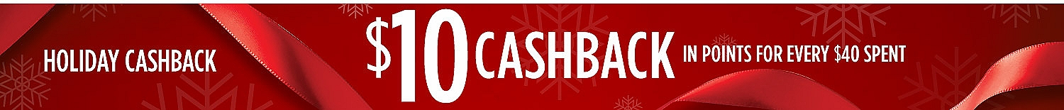 Holiday Cashback