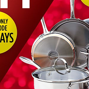 Extra 15% off cookware with code: HOLIDAYS