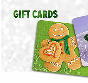 GIFT CARDS | shop now