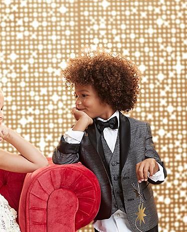 50-60% off festive kids' party wear