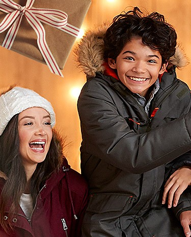 Up to 60% off winter clothing for the family