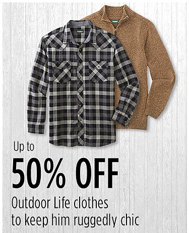 Men's Outdoor Life clothes