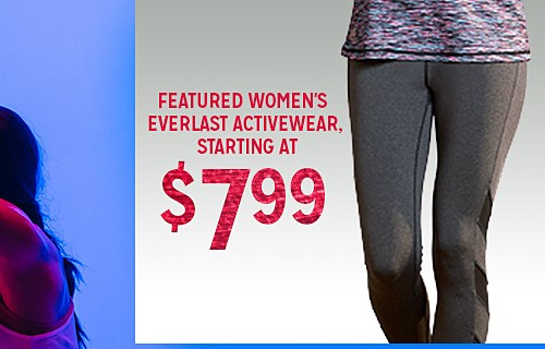 WORK IT OUT | WOMEN'S ATHLETIC PANTS STARTING AT $7.99