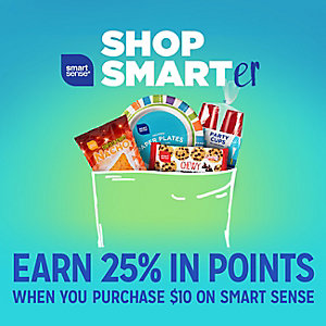 Smart Sense | Earn 25% in points