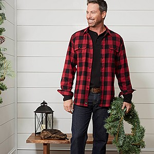 Men's Thermals & Flannels, $8.99