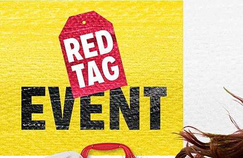 RED TAG EVENT | Up to 60% off Winter Clothing for the Family