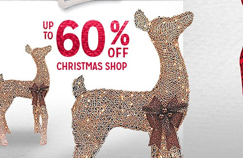 RED TAG EVENT | Up to 60% off Christmas shop