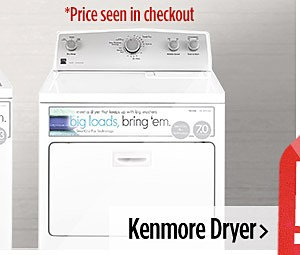 Kenmore Dryer $386.99
