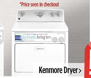 Kenmore Dryer $386.99