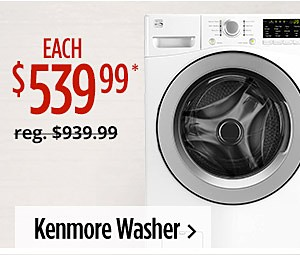 Kenmore Washer $539.99