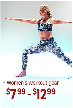 Everyday Great Price! | Women's workout gear, $7.99-$12.99