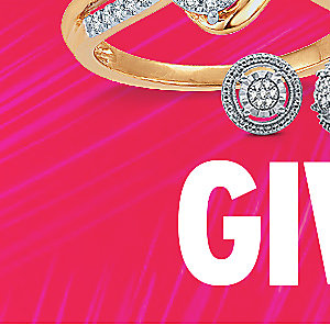 GIVE LOVE   Fine jewelry up to 75% off   Plus, extra 15% off with code: KMARTDEAL