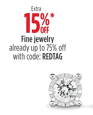 Extra 15% Off Fine Jewelry (Already Up to 75% Off) with code: REDTAG