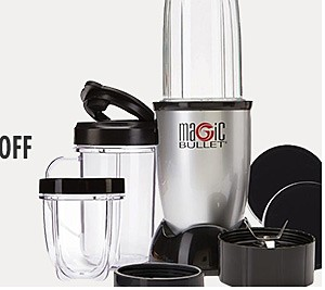 MAGIC BULLET BLENDER Reg: 59.99, Sale $39.99 plus additional blenders up to 15% off