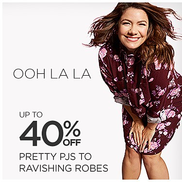 40% off Pajamas and Robes for Her