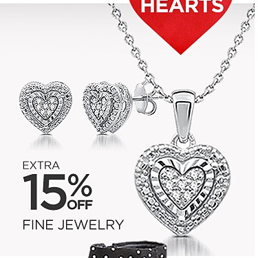 Extra 15% Off Fine Jewelry (Already Up to 70% Off) with Code: HEARTS