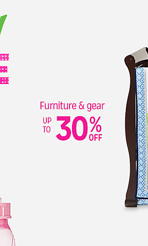 Oh Baby! Baby Sale | Up to 30% off furniture & gear