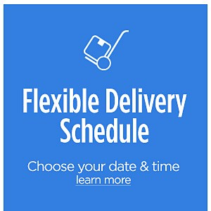 Flexible Delivery Schedule