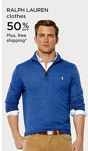 50% off Ralph Lauren Clothes