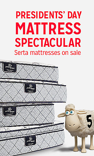 Serta mattresses on sale | Featuring Serta Skyfield twin mattress, $109
