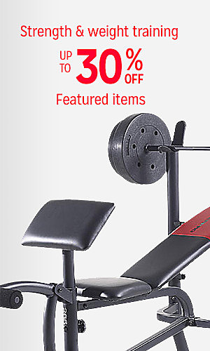 Featured strength & weight training equipment up to 30% off