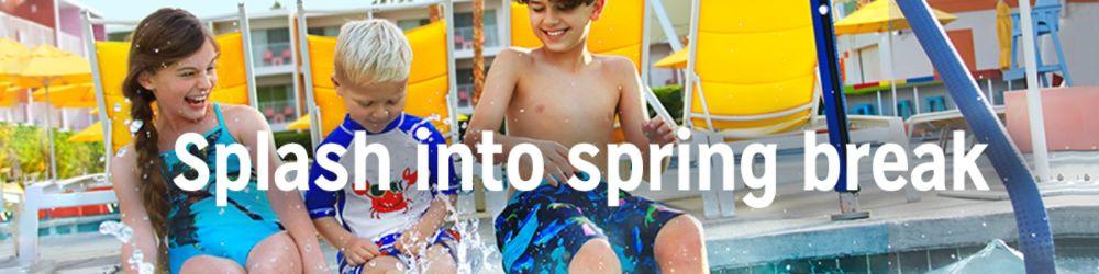 Splash into spring break