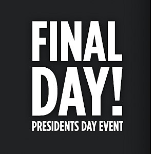 Presidents Day Event | Final Day! | Up to 40% off top appliance brands