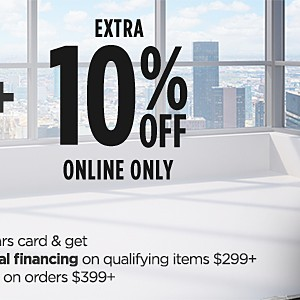 Save 30% or more on featured fitness | Use your Sears card & get extra 5% off or up to 12 months special finance on qualifying items $299+ | Plus extra 10% off Online Only