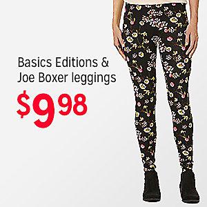 Basic Editions & Joe Boxer Leggings, $9.98