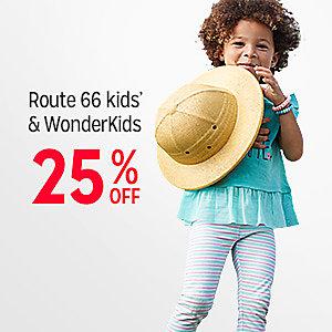 Route 66 kids' & Wonderkids   25% off