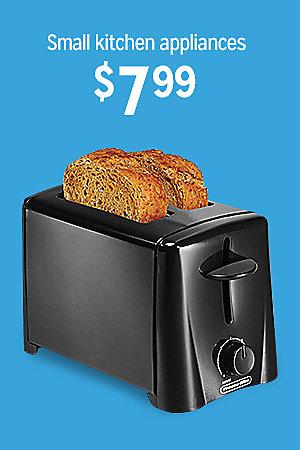 Small kitchen appliances, $7.99