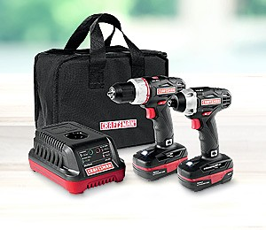 $109.99 Craftsman C3 drill & impact driver combo kit | reg. $149.99