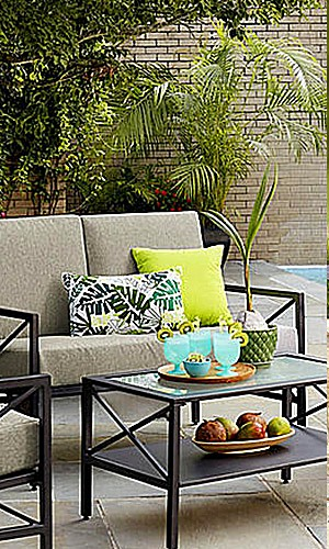 Up to 35% off & free delivery on patio furniture $399+