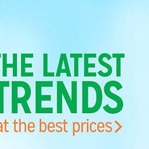 The latest trends at the best prices |shop now