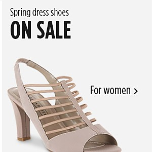 Spring dress shoes on sale