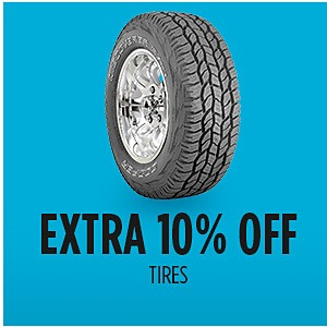 Family & Friends | Extra 10% off Automotive Accessories and Tires