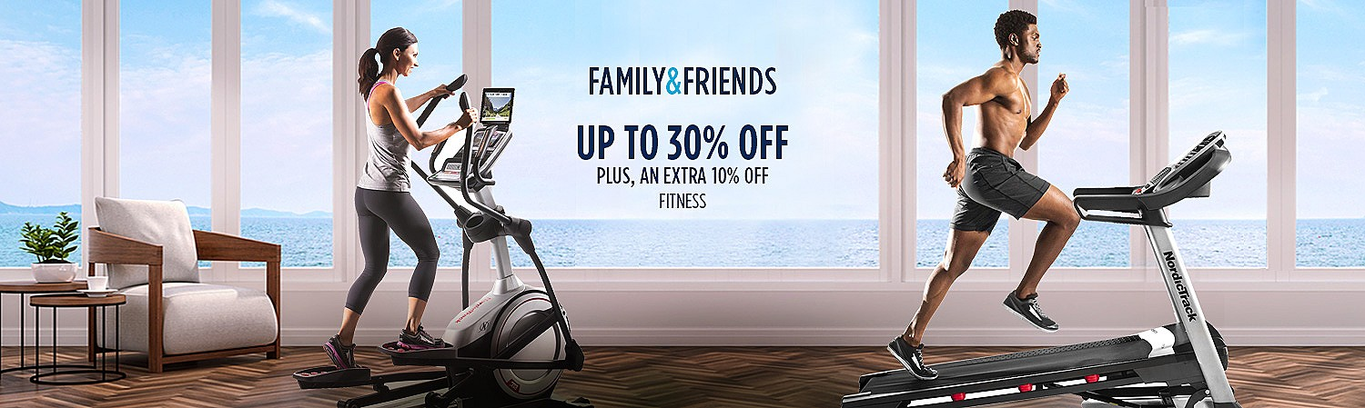 Up to 30% off, plus an extra 10% off Featured Fitness