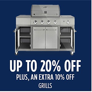 Family & Friends | Up to 20% off Grills + Extra 10% off