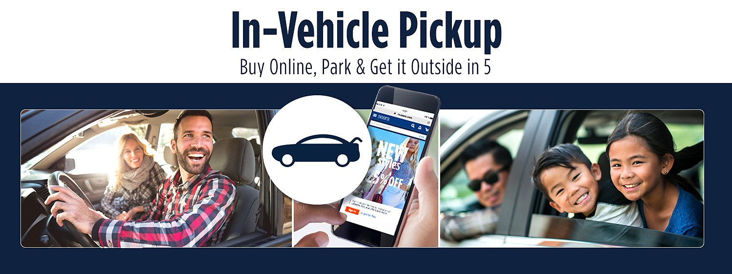Buy Online, Park & Get it Outside in 5