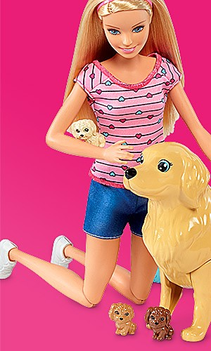 Buy one, get one 50% off Barbie toys